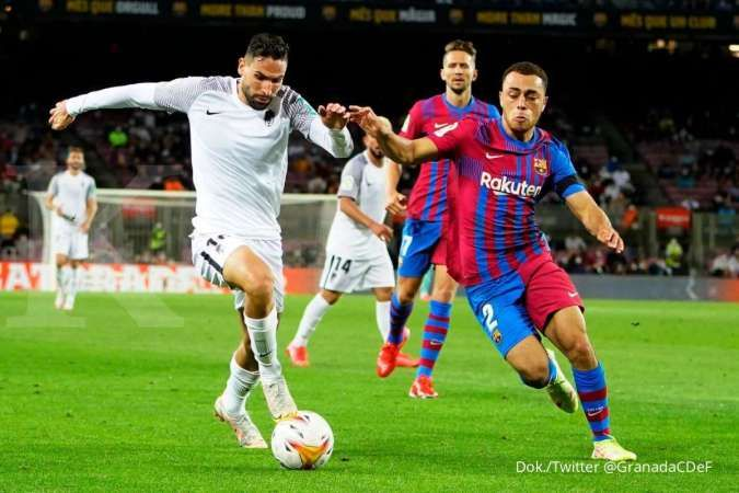 Hasil Liga Spanyol Barcelona vs Granada: El Grana tahan imbang Blaugrana 1-1