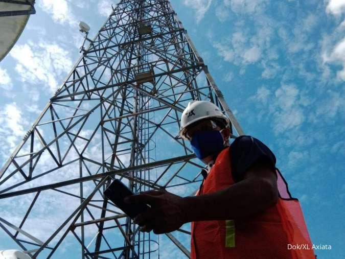 Kembangkan infrastruktur jaringan, XL Axiata (EXCL) alokasikan capex Rp 7 triliun