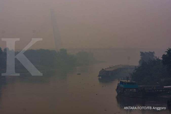 Kualitas udara di Sumatera Selatan memburuk, sekolah diliburkan