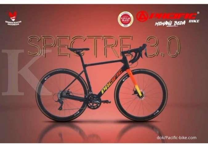 Baru beredar, harga sepeda balap Pacific Spectre 3.0 bikin kantong mendadak nangis