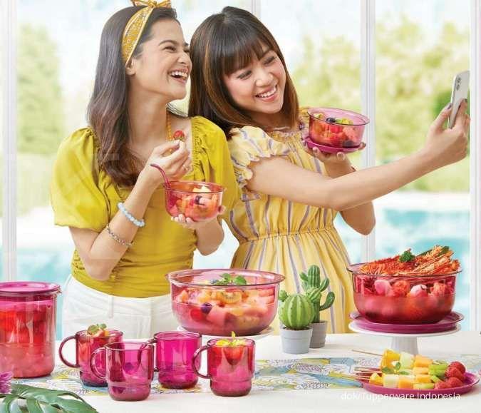 Promo Tupperware bulan Oktober 2020 khusus alat makan, meja makan jadi lebih cantik
