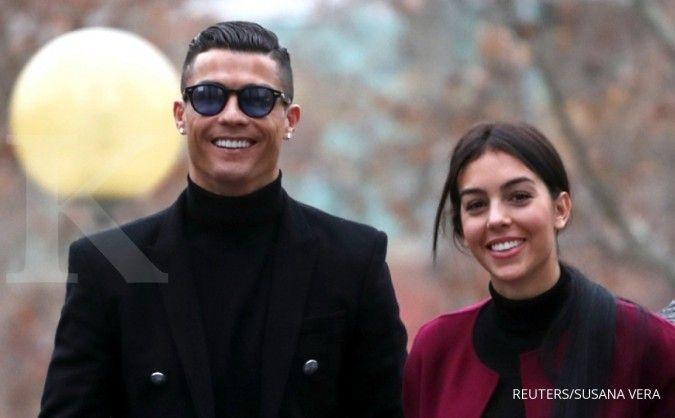 Cristiano Ronaldo bersama Georgina Rodriguez
