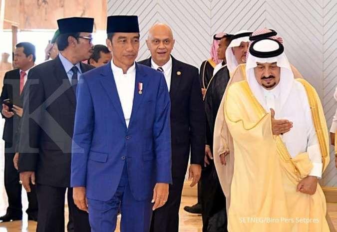 Jokowi telepon Raja Salman ucapkan selamat Idul Adha