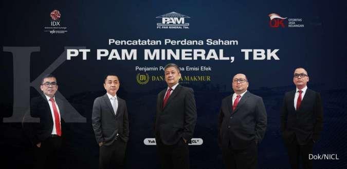 PAM Mineral (NICL) targetkan jual 1,30 juta metrik ton nikel tahun ini
