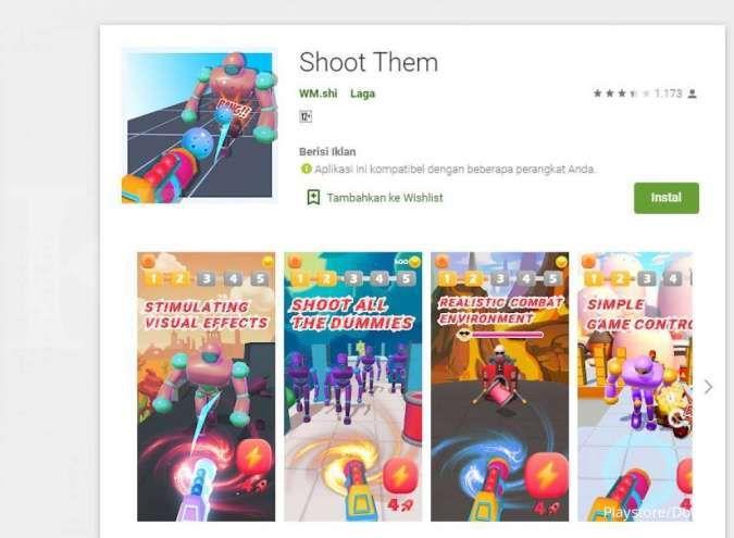 Aplikasi game Android - Shoot Them