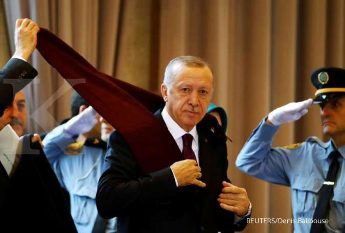 Soal uji coba sistem S-400, Erdogan: AS marah-marah bukan urusan kami!
