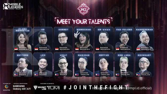 Talent Indonesia M2 Mobile Legends