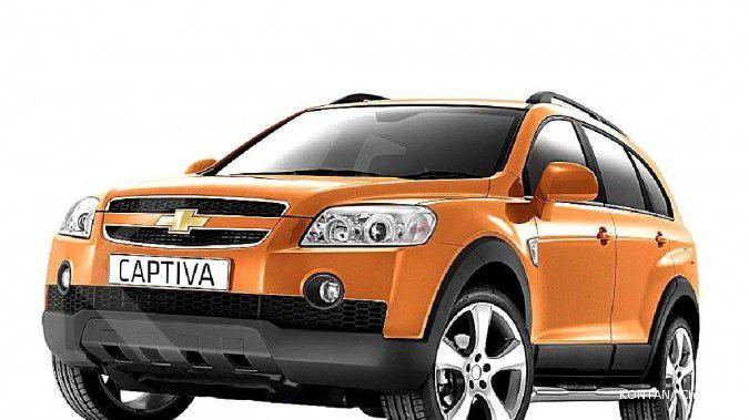 Harga mobil bekas Chevrolet Captiva per Oktober 2020