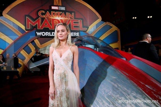 Brie Larson tunjukkan perlengkapan gym di rumah, siap olahraga untuk Captain Marvel 2