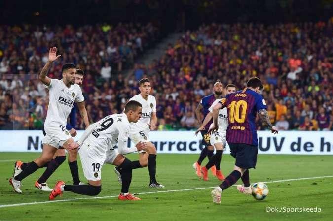 Barcelona vs Valencia di La Liga Spanyol