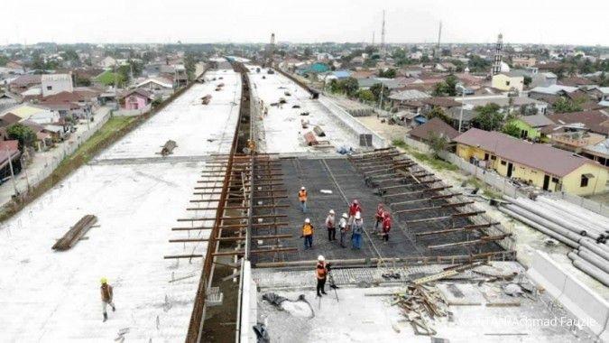 Hutama Karya targetkan dua ruas tol selesai April