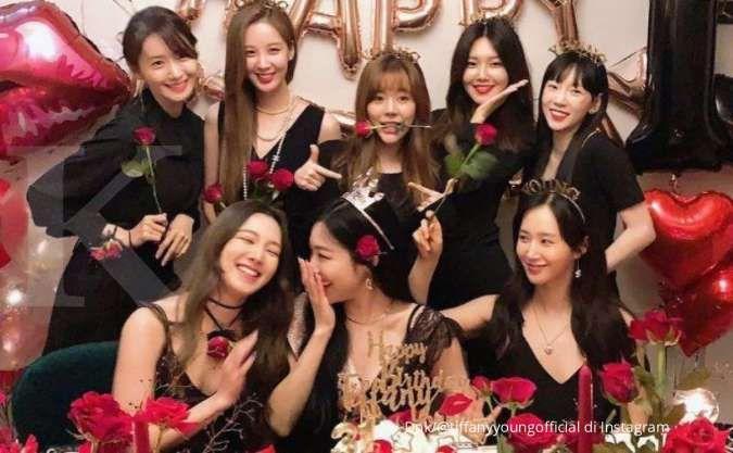 Yoona hingga Taeyeon, lima member SNSD perpanjang kontrak dengan SM Entertainment