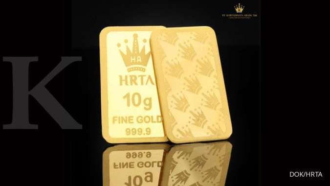 Harga emas Antam di Pegadaian pagi ini Rp 1.094.000 per gram (11 Agustus 2020)