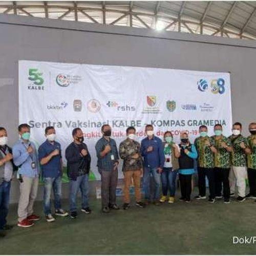 Kalbe dan Kompas Gramedia Dukung Percepatan VaksinasiMasyarakat Kabupaten Bandung