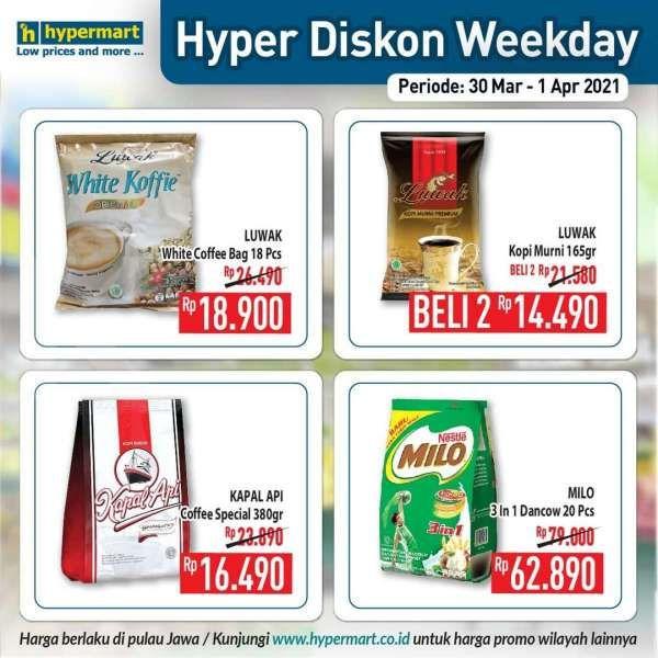 Promo Hypermart weekday 30 Maret – 1 April 2021