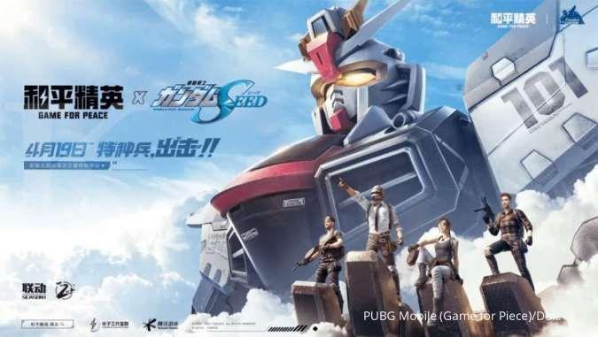 Gokil! PUBG Mobile versi China kolaborasi dengan anime Gundam
