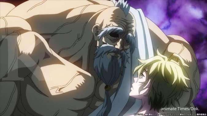 Anime Records of Ragnarok perlihatkan trailer baru, dewa dan manusia saling bertarung