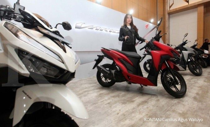 Harga motor bekas Honda Vario 150 eSP 2018