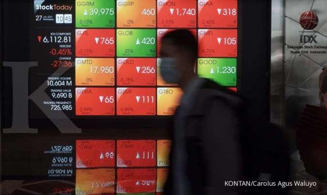 Investor asing paling banyak melego saham-saham ini dalam sepekan