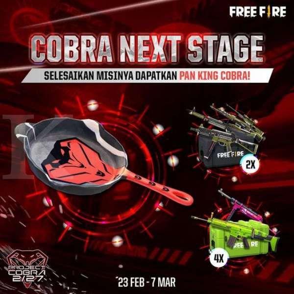 Event Cobra Next Stage - Free Fire