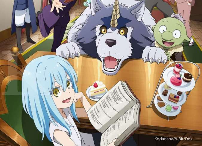 anime That Time I Got Reincarnated as a Slime: The Silme Diaries