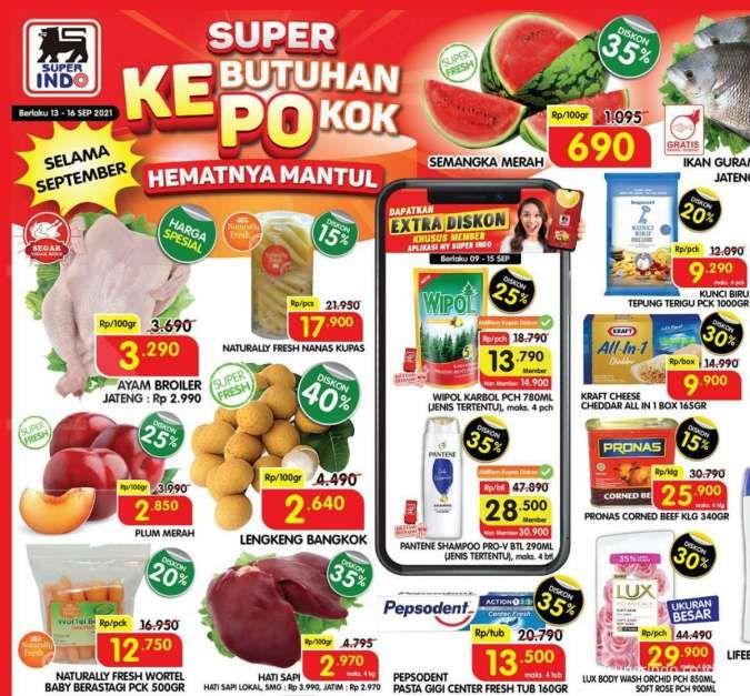 Katalog promo Superindo 13-16 September 2021