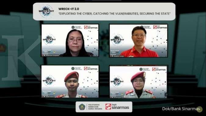 Dorong edukasi keamanan siber, Bank Sinarmas dan Poltek SSN gelar Wreck-It 2.0