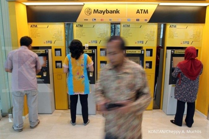 Tanpa kartu debit, nasabah Maybank tetap bisa tarik tunai di ATM