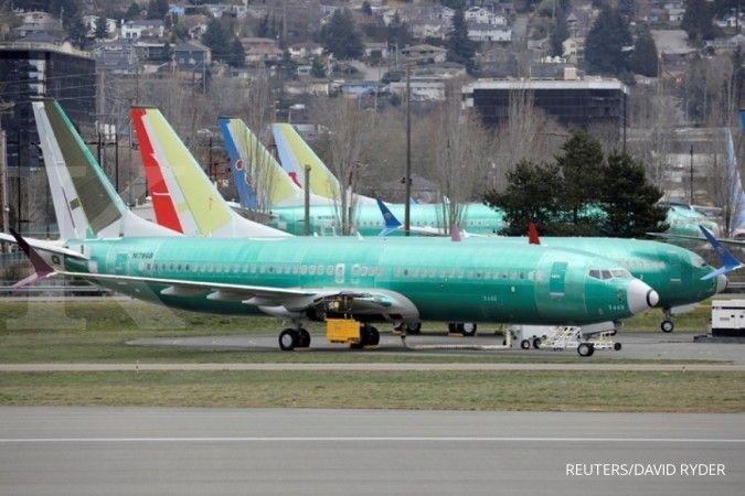 Gara-gara 737 MAX, Boeing berencana tambah utang