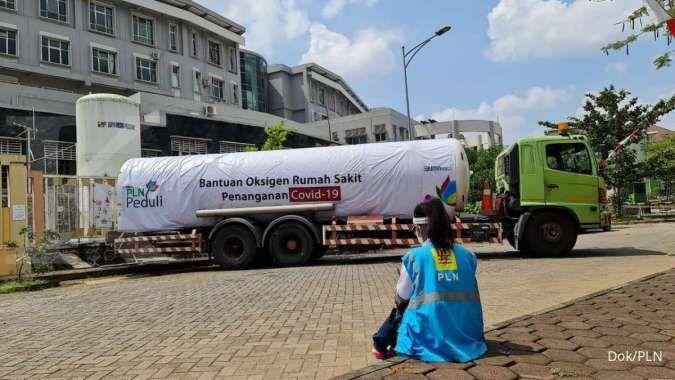 PLN salurkan bantuan oksigen penanganan Covid-19 ke 7 rumah sakit di Jawa Tengah