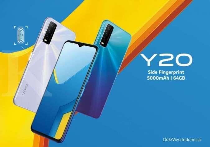 Spesifikasi dan harga HP Vivo Y20 terbaru, hanya Rp 2 jutaan dengan baterai besar
