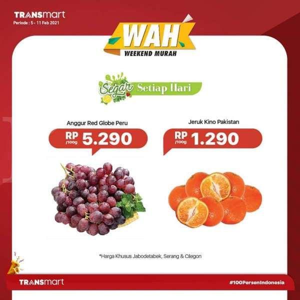 Promo Transmart Carrefour 5-11 Februari 2021
