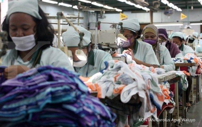 Industri tekstil domestik tertekan produk impor