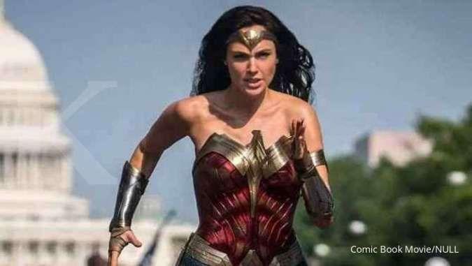 Film Wonder Woman 1984 tampilkan foto baru, Gal Gadot berlari di jalan Washington D.C