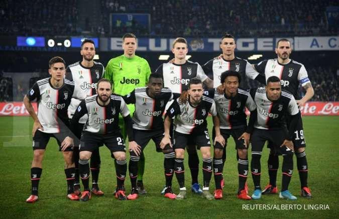 Juventus kunci gelar scudetto ke 36 usai kalahkan Sampdoria