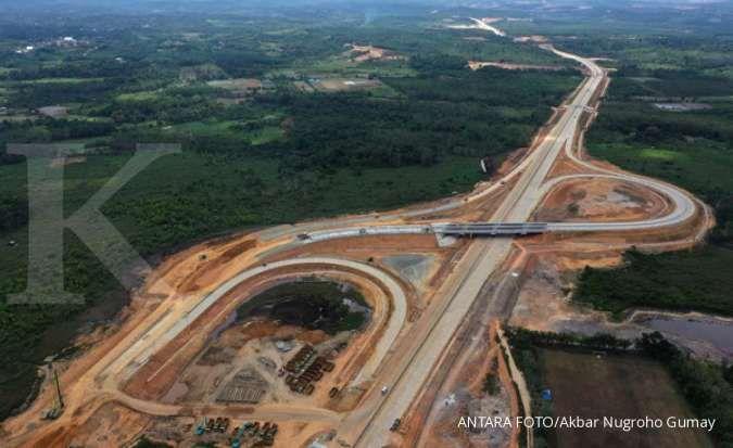 Tarif jalan tol pertama di provinsi ibu kota baru Rp 1.000 per km