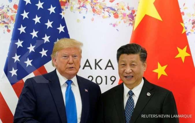 Meski ada kesepakatan fase satu, defisit yang dialami AS masih besar ketimbang China