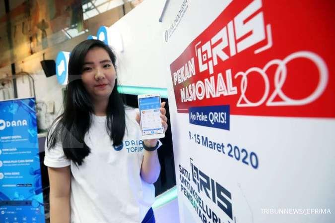 Hingga pertengahan Mei 2020, transaksi pembayaran dompet digital DANA tumbuh 50%