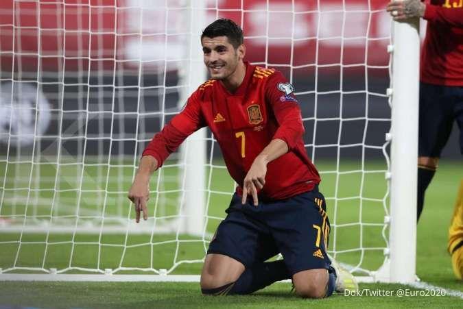 Jadwal Euro 2020 Slovakia vs Spanyol: Menang dari Soloki, harga mati La Furia Roja