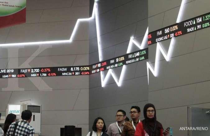 Saham GGRM anjlok 20%, IHSG melorot 1,82% ke 6.219 di akhir perdagangan hari ini
