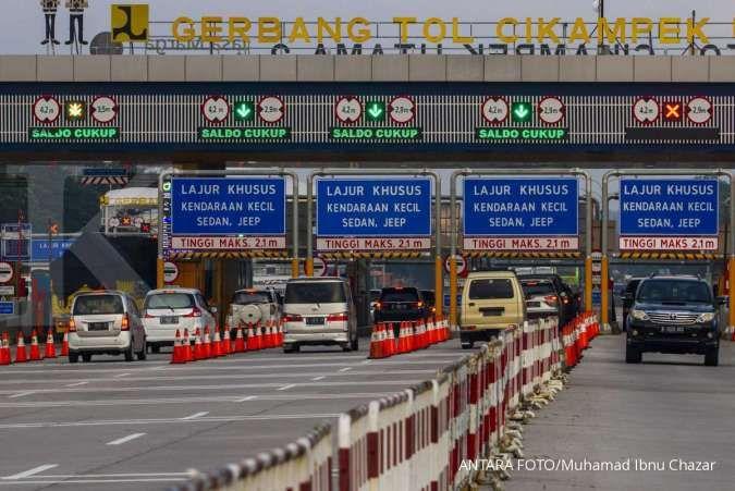 Hari ini, 138.508 kendaraan diprediksi tinggalkan Jabotabek lewat tol