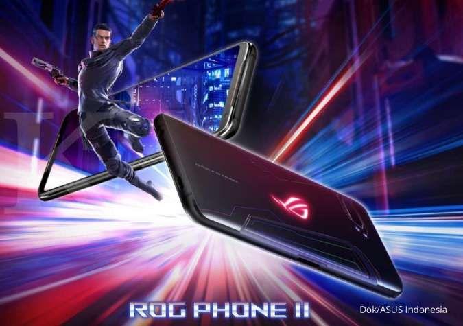 Dibanderol mulai Rp 8 jutaan, ini harga HP ASUS ROG Phone II terbaru