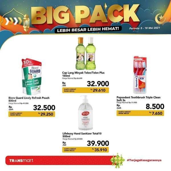 Cek promo Transmart Carrefour 14 Mei 2021, penawaran Big Pack di akhir pekan!