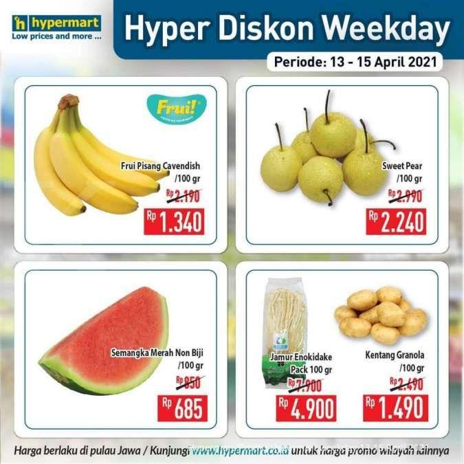 Promo Hypermart weekday 13-15 April 2021