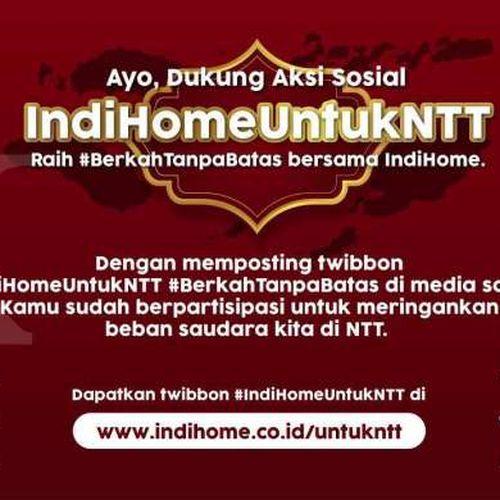Dukung NTT Bangkit, Telkom Wujudkan Aksi Peduli Indihome untuk NTT
