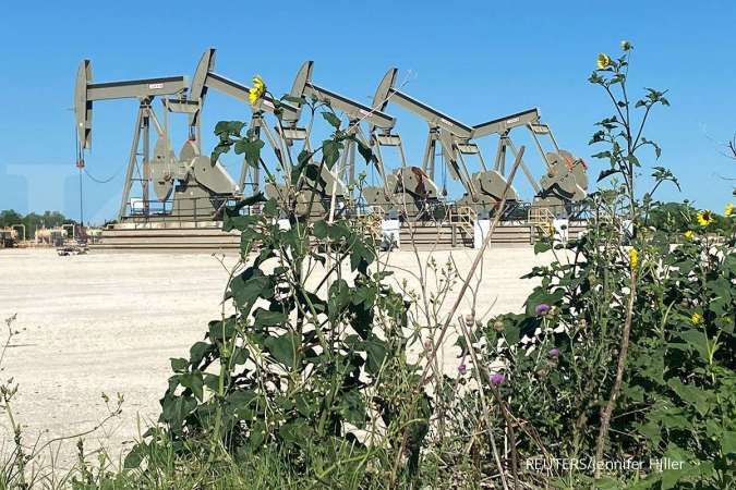 Harga minyak mentah naik, Brent ke US$75,60 dan WTI ke US$73,31 per barel