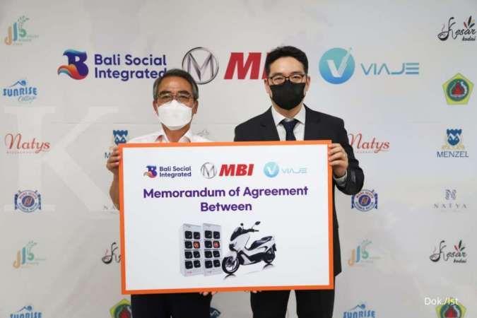 Gandeng MBI, Viaje Indonesia akan datangkan 1.000 motor listrik ke Bali