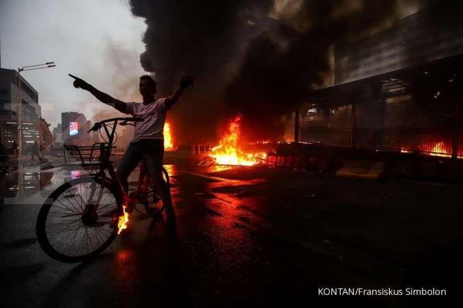 Anies: 20 halte rusak dan kerugian lebih Rp 55 miliar dampak demo anarkistis