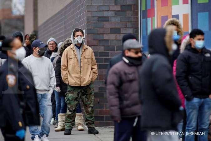 New York menderita hari paling mematikan dalam krisis virus corona