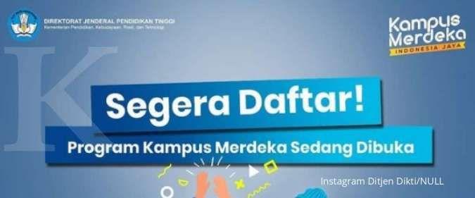 Ada 3 program Kampus Merdeka buat mengembangkan diri mahasiswa, ini infonya